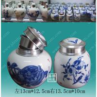 规格齐全陶瓷蜂蜜罐批发