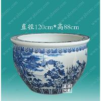 供应青花瓷陶瓷大缸 陶瓷大缸厂家 手工陶瓷大缸