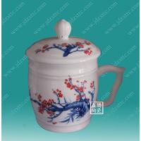 供应陶瓷会议茶杯礼品茶杯厂家批发定做