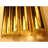 供应各种拉花铜棒 直纹网纹黄铜棒 H68黄铜棒 外螺纹铜棒