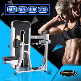 专业生产健身房专用坐姿划船训练器 大型商用健身器材
