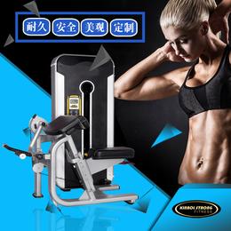 专业生产健身房专用二头肌训练器 大型商用健身器材