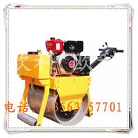 欧科单钢轮振动压路机小型压路机重型手扶式单轮压路机
