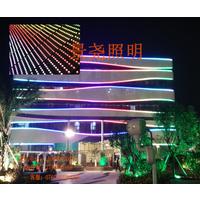楼宇背景彩色圆形50cmLED点光源欢迎致电大量订购