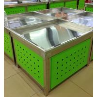 超市货架系列 冰鲜架