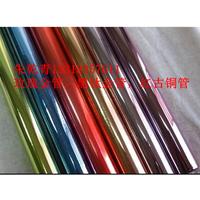 供应佛山宝石蓝彩色不锈钢家具装饰专用彩色管89x5.4