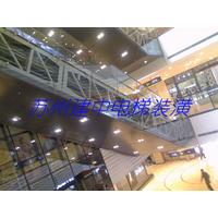 扶梯装潢侧面玻璃不锈钢底面缩略图