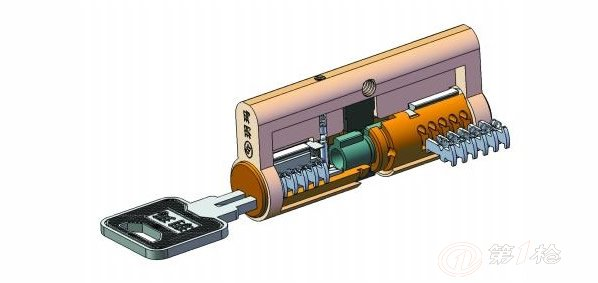 锁的原理与结构图片