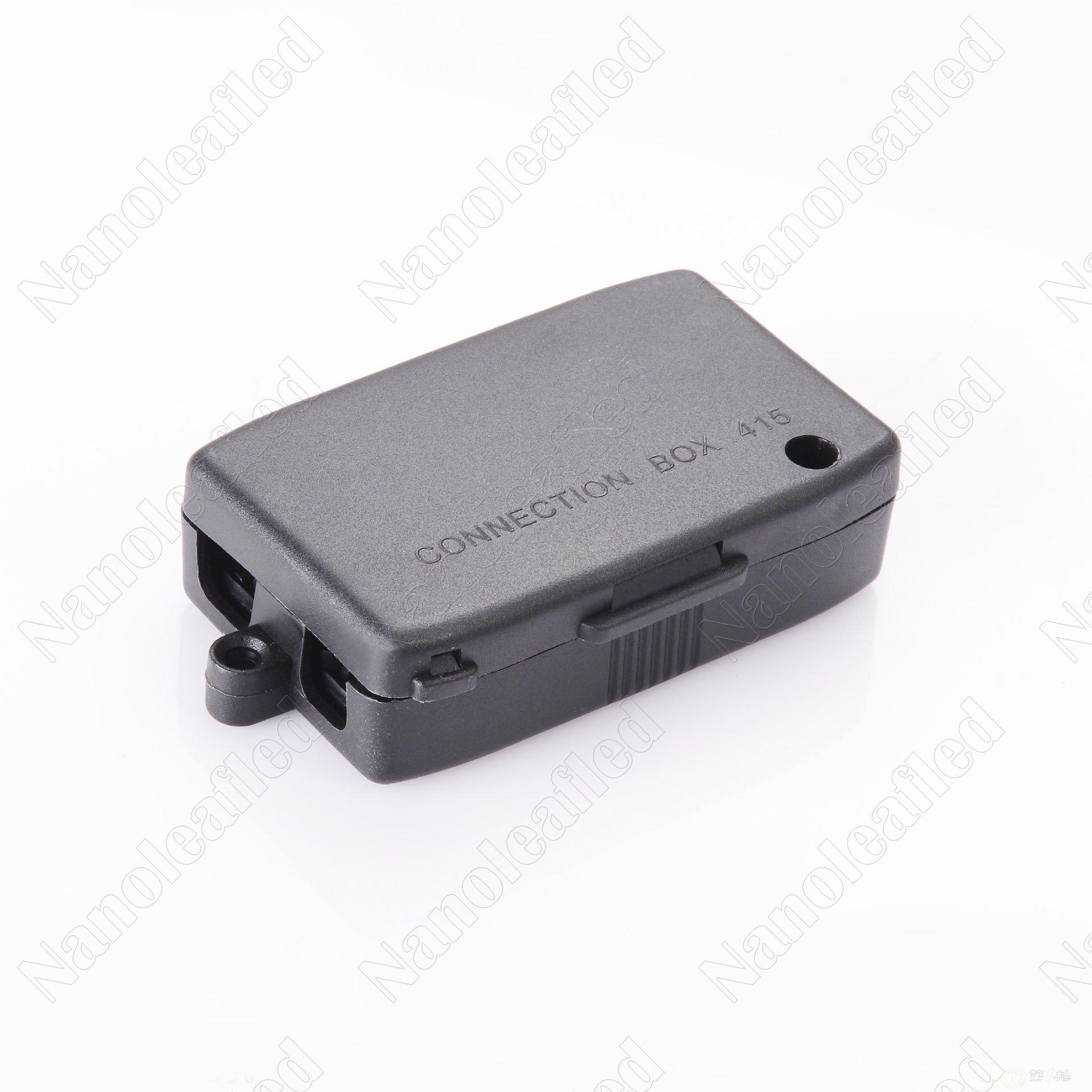 黑色四位带端子 灯具接线盒