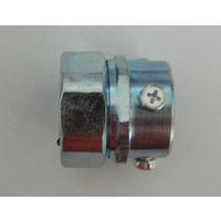 螺丝紧固接头 卡套式金属接头 无螺纹钢管金固接头