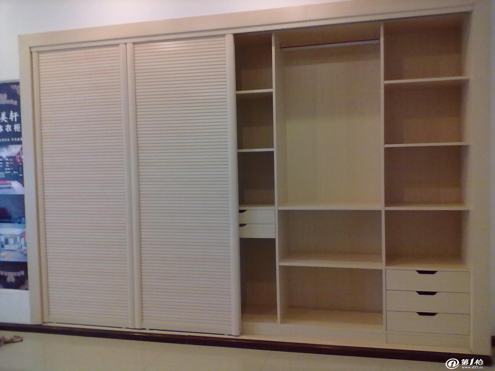 房间衣柜内部格局设计图展示