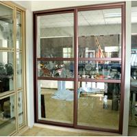 恒达美铝合金推拉门 厨房拼格门玻璃门