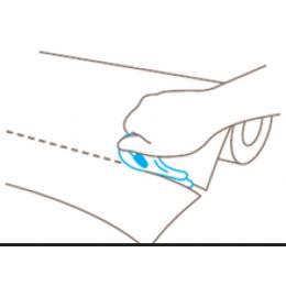 德国进口Martor安全刀 开箱刀内嵌隐藏墙壁纸刀 塑料薄膜板切割刀