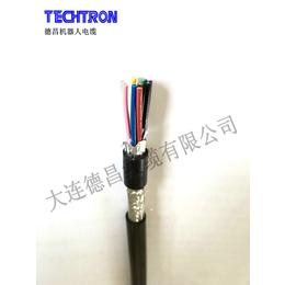 德昌线缆 高柔动力拖链电缆无屏蔽KPUR