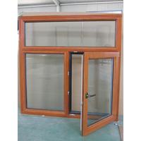 铝包木窗 隔音隔热铝木窗