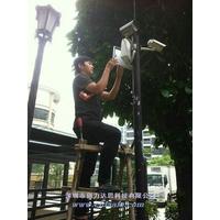 深圳安防监控 监控安装 控布线 音视频广告 楼宇对讲