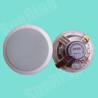 深圳三灵电子供应SL-T-106G同轴高音塑料吸顶广播喇叭