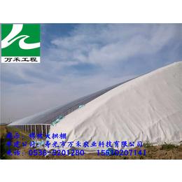 温室建设冬暖式棉被拱棚