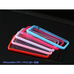 厂家批发双色苹果6S手机壳PC+TPU二合一苹果6S手机套