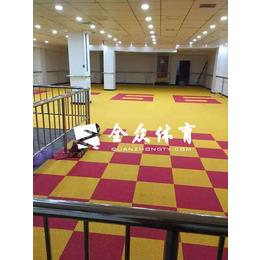 全众体育悬浮式拼装地板 防滑耐磨拼装地板 运动拼装地板
