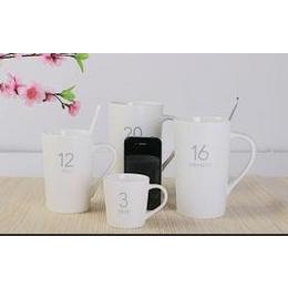 创意星巴克风格<em>陶瓷</em><em>杯子</em> 牛奶咖啡杯水杯<em>大</em><em>马克</em>杯定制