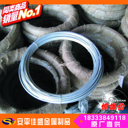 实力厂家生产镀锌铁丝绳 防锈耐晒涂塑铁丝 黑退火丝 出口标准