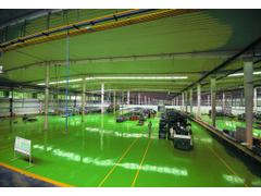 公司工厂流水线加工中心