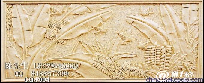 欧式浮雕壁画 石膏