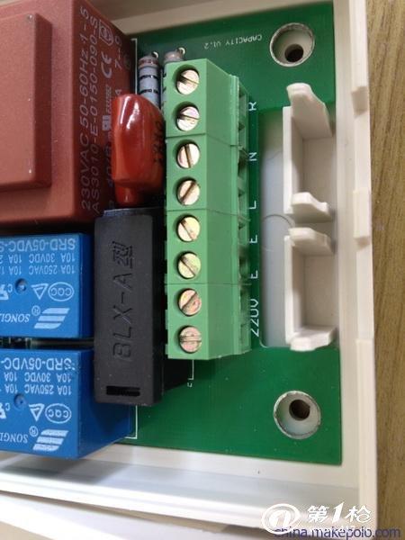 三相电动机正反转自动地线控制电路图