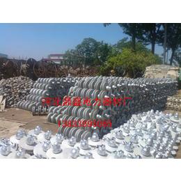 大量回收废旧玻璃瓷瓶 悬式瓷瓶回收 支柱绝缘子回收高清大图