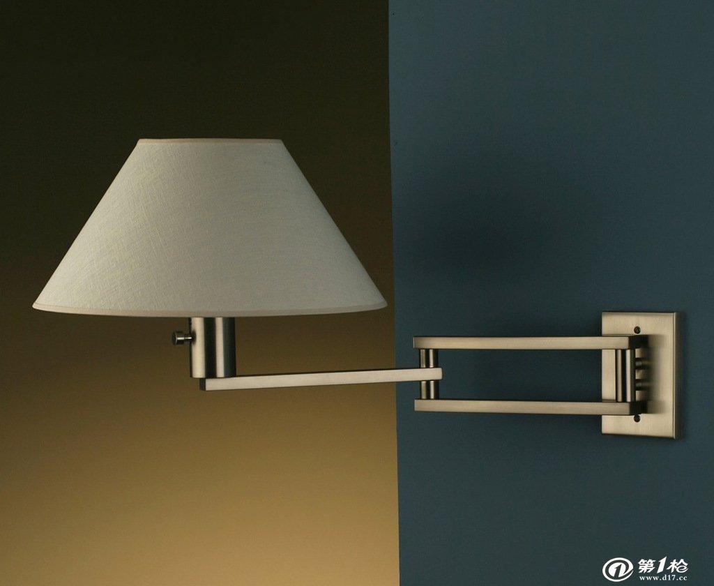 摇臂灯 壁灯 酒店客房床头壁灯 家居卧室床头壁灯8001摇臂床头灯图片
