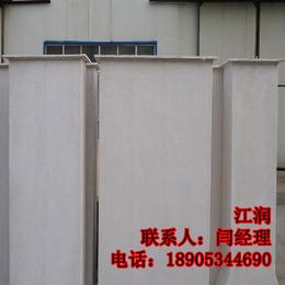 兴江润加工定制 无机玻璃钢通风管道 玻璃钢风管