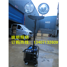 珧明专业照明M-SFW6120便携式升降移动照明车