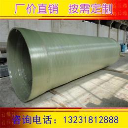 玻璃钢缠绕管道 复合电缆管 高压玻璃钢电缆管 使用寿命长