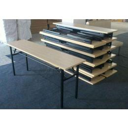 昆明办公折叠桌会议桌批发定做长条简易培训桌