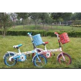 天鸽车业低价销售儿童折叠单车