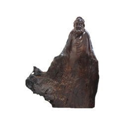 古沉木雕刻艺术JXLYQ00086 李白