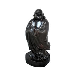 古沉木雕刻艺术JXLYQ00083笑佛
