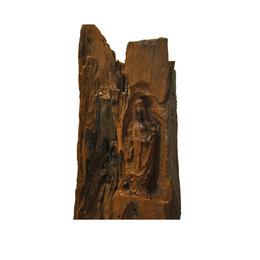 古沉木雕刻艺术JXLYQ00094 观音