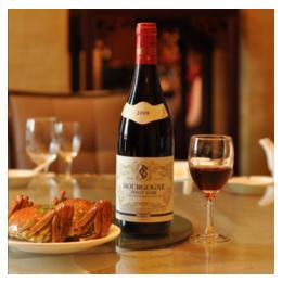 勃艮第黑品诺干红葡萄酒