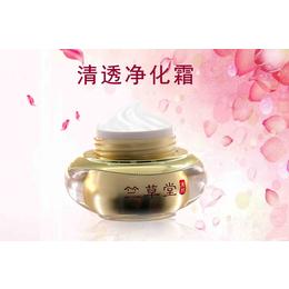 广州化妆品加工厂厂家竺草堂清透净化霜