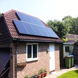 弘太阳 河南郑州2kw-10kw家庭分布式太阳能光伏发电系统