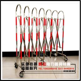 厂家直销玻璃钢伸缩围栏高1.25m X 长2.5m专用可定制