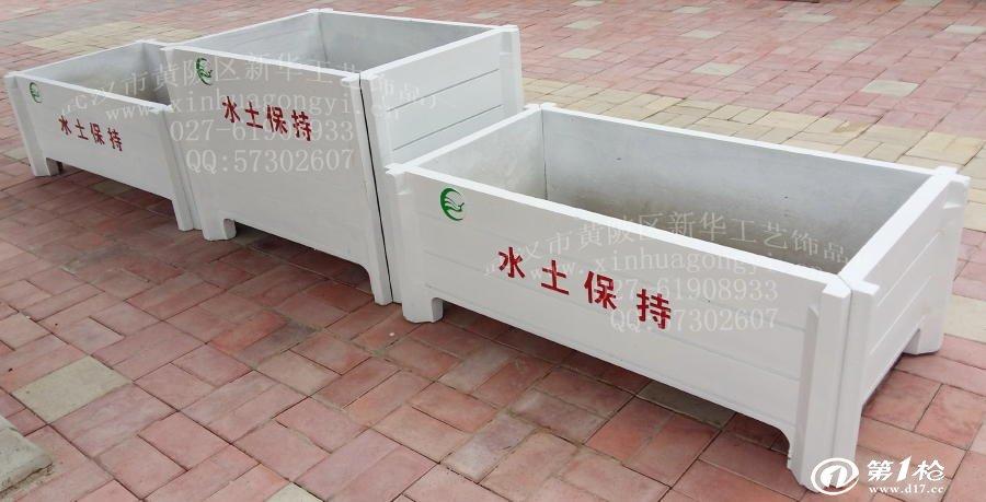 GRC零件花箱水泥防腐仿木花箱价格组合花箱加工要求图纸及模具图片