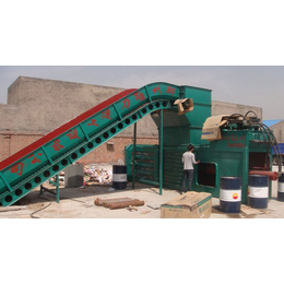 上饶协力160型废纸打包机每次打一吨多废纸箱