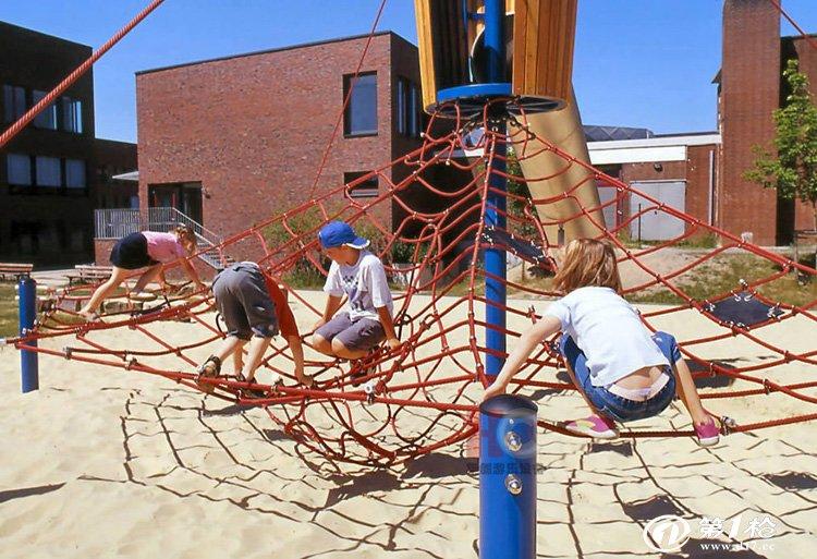 幼儿园滑梯攀爬网架爬网儿童攀爬攀岩幼儿园攀岩游乐
