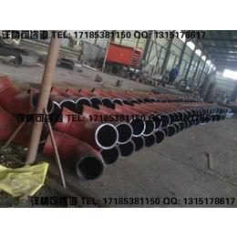 冶炼厂磨削性大的物料输送用陶瓷复合管