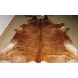 供应苏里隆牛皮地毯 时尚虎纹地毯 巴西进口牛皮地毯批发