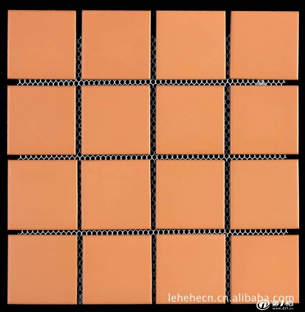 【厂家直销】彩码砖 纸皮砖 外墙砖(73*73mm)