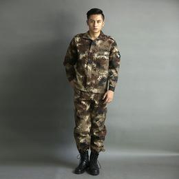 新款秋冬长袖防寒工作服套装可定做劳保服工装制服缩略图